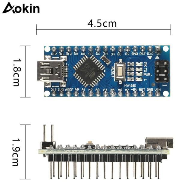 Nano Mini USB With the bootloader compatible Nano 3.0 controller for arduino CH340 USB driver 16Mhz Nano v3.0 ATMEGA328P/168P