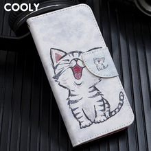 COOLY Leather Wallet Flip Case For Huawei P20 Lite 2019 P30 Pro P10