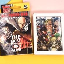 Jeu de Table Naruto/Conan/eau de javel/Tokyo Ghoul/un homme de poinçon/Code Geass/Reborn/Conan dessin animé cartes de Poker Anime carte à collectionner