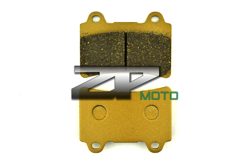 Organic Kevlar Brake Pads For XVZ 1300 Royal Star Midnight Tour Deluxe 06-07 XVZ 1300 Royal Star Venture S 08-13 Rear Brand New motorcycle front and rear brake pads for yamaha xvz 1300 xvz1300 royal star tour deluxe 2005 2007 brake disc pad