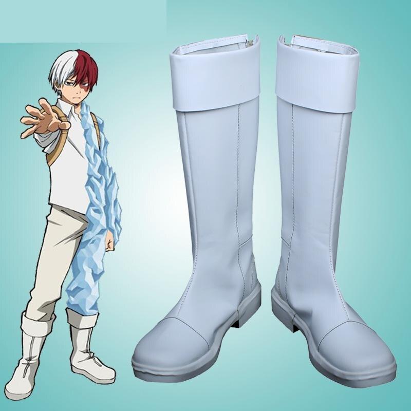 High Q Unisex Boku no hero academia TODOROKI SHOTO Cosplay Costumes Boots Shoes