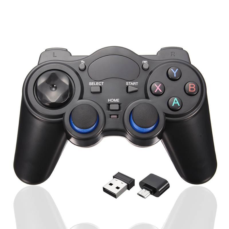 Neue 2,4 GHz Wireless Controller Joystick Gamepad PC Für Android TV Box PC GPD XD Computer Game-Controller Mit USB empfänger