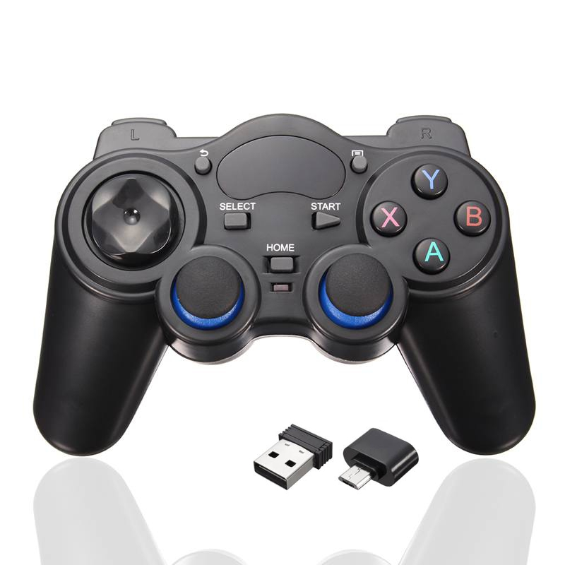Nuovo 2.4 GHz Wireless Controller Joystick Gamepad PC Per Android TV Box PC GPD XD Computer Periferiche di Gioco Con USB ricevitore