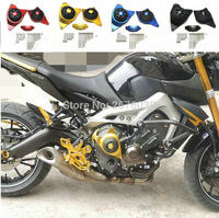 Free Shipping MT 09 TRACER Full Engine Stator Case Plug Clutch Cover Protector R&L For Yamaha MT 09 mt 09 tracer CNC Aluminium