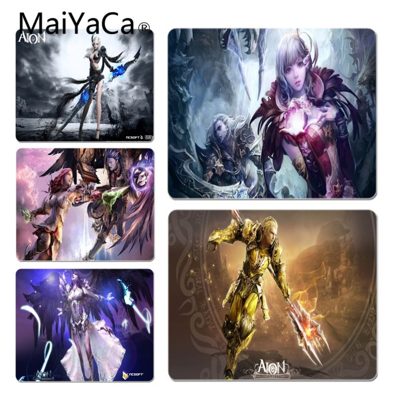 Painstaking Maiyaca Hot Sales Aion Gamer Comfort Mouse Mat Gaming Mousepad Fashion Computer Mousepad Gaming Mouse Mats For Lol Cs Go Low Price Computer Peripherals Mouse & Keyboards