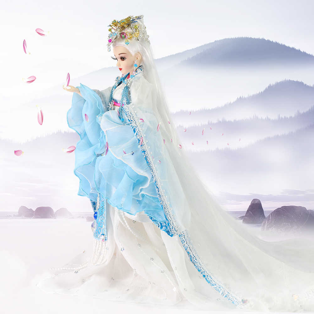 1//6 BJD Clothes Eastern Ancient Rhyme Fairy Costume for BJD Doll Multi Styles