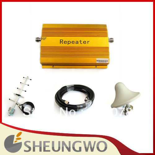 1 set CDMA 850Mhz Cell Phone Signal Booster Amplifier RF Repeater 2000sqm free shipping DHL/EMS/UPS