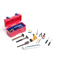 Black and Pink 1/6 Scale Plastic Hand Tools Toolbox Set Repair Kit Repairman Accessories for 12'' Action Figure Scene Accessorie meritor toolbox 12 4 1 crack [unlimited install] for wabco