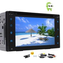 Wireless Backup Camera Included! Android 6.0 Car Stereo 2 DinCar DVD Player Touch Screen Support GPS Navigation OBD2/3G/4G WIFI