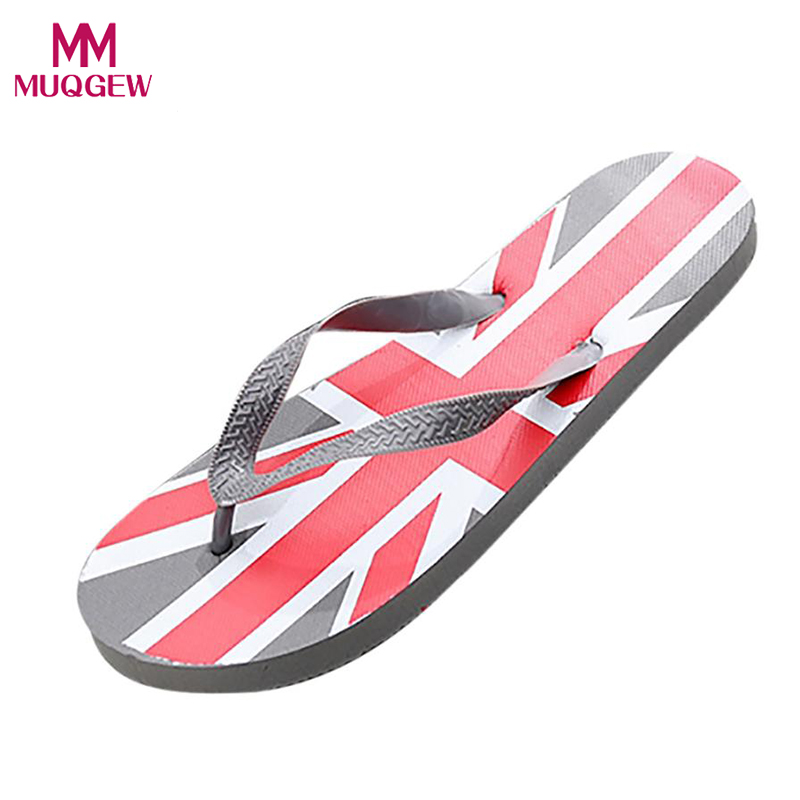 Men Summer Flip Flops Beach Shoes New Fashion Flag Anti Skidding Flip Flops Slipper Sandals Boys Soft Beach Shoes Slippers 2017 new design summer comfortable eva solid men s sandals leisure beach beckham flip flops slipper shoes slides 05