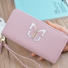 Long Multi Functional Coin Card Holder Purses Luxury Leather Women Wallets Patent Alligator Bag Female Design Clutch elegant women s clutch bag with patent leather and crocodile print design
