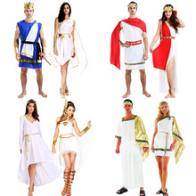 2017 New Women Men Ancient Greece Angle Cosplay Costume Family Party Adults Carnival Halloween Costumes Dress Supplies