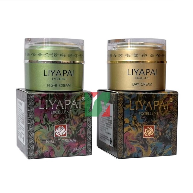 Excellent LIYAPAI whitening fade out day +night cream for fades-out ages spots brown skin marks dark pigmentation spots