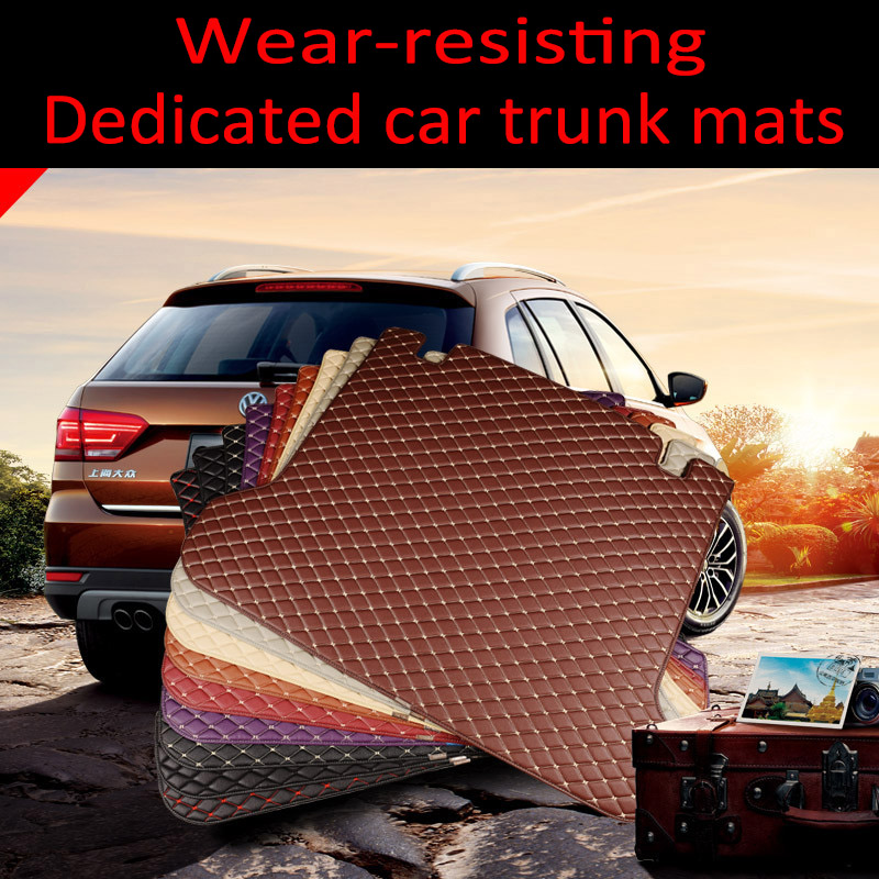 Custom fit car Trunk mats Special for Nissan patrol Y62 car styling all weather heavy duty carpet rugs floor liners|  - title=