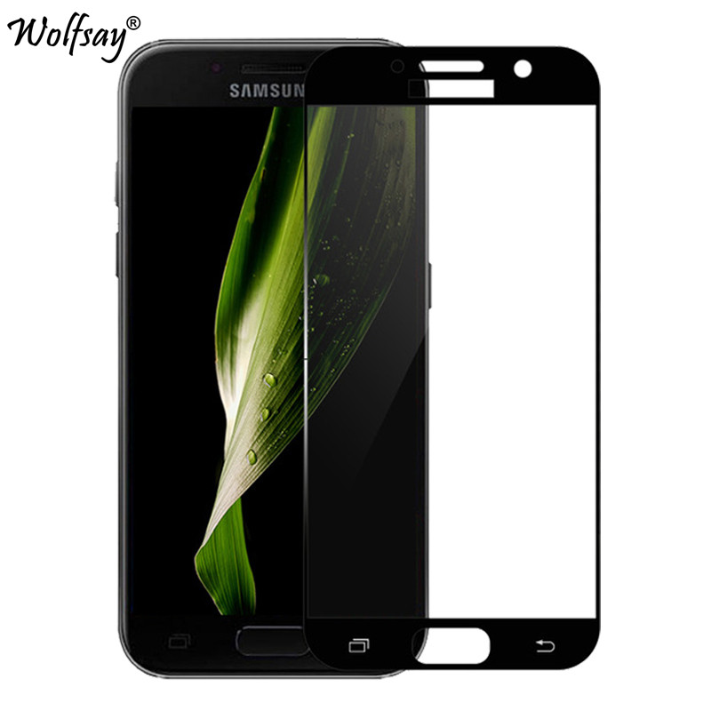 A7 2017 Glass For Samsung Galaxy A7 2017 Screen Protector Tempered Glass for Samsung Galaxy A7 2017 A720 Full Cover Phone Film
