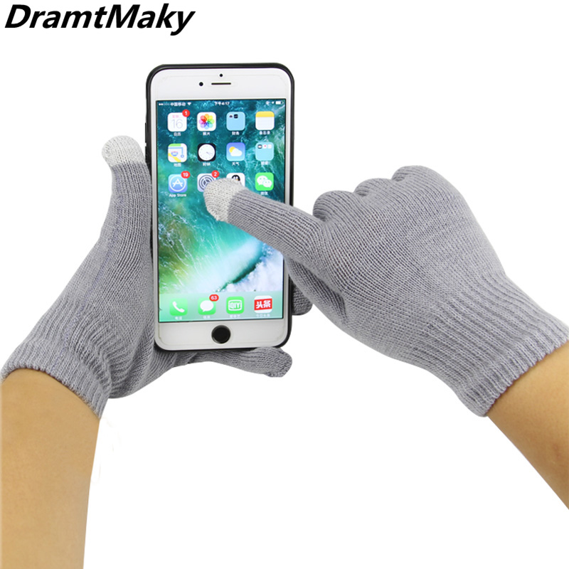 Women's Men's Gloves Touch Screen Winter Gloves Cotton Warmer Smartphones Driving Tactical Female Gloves Mittens Military Mitts