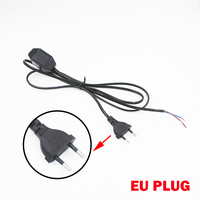 On Sale 60 Watt Max Dimmer Switching Power Cable 1 8m Length EU Plug Black Or