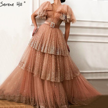 Dubai V-Neck Sexy Evening Dresses 2019 Beach Serene Hill