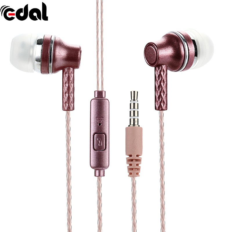 In-Ear Stereo Earphone Earbuds Earphone Headset Mic for Cell Phone MP3 3.5mm Brand New new 3 5mm motorbike motorcycle helmet earphone headset stereo speakers with cable extension for mp3 music device gps cell phones