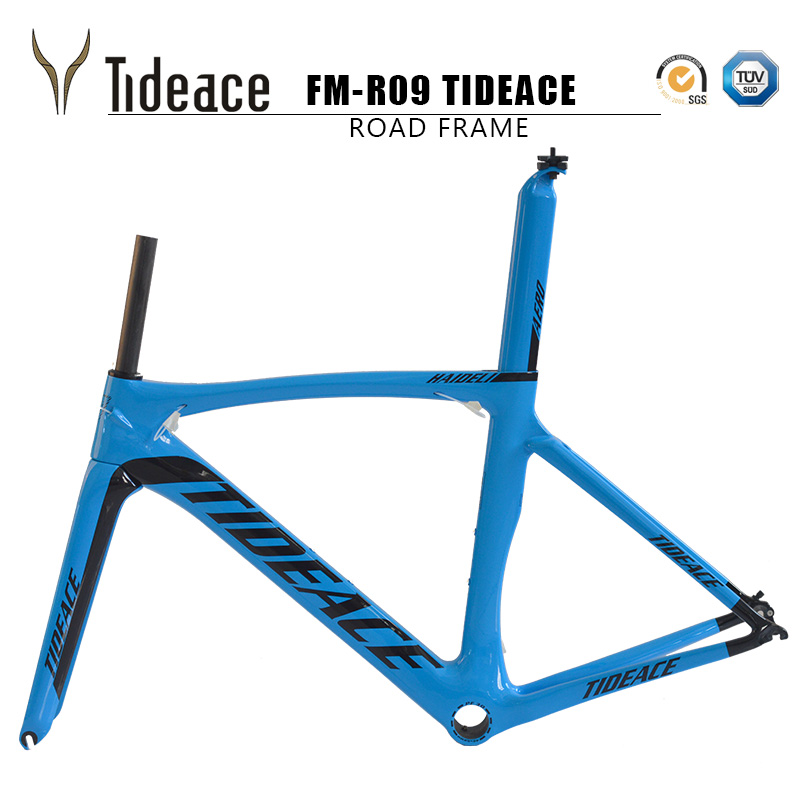 2017 Carbon Road Bike Frame Chinese Carbon Road Frame Cycling Bicicleta 54cm PF30 Road Bike Frame Road Carbon Frameset 2018 carbon track frame carbon fiber fixed gear bike frame carbon racing tracking bike frameset 49 51 54cm with fork seatpost