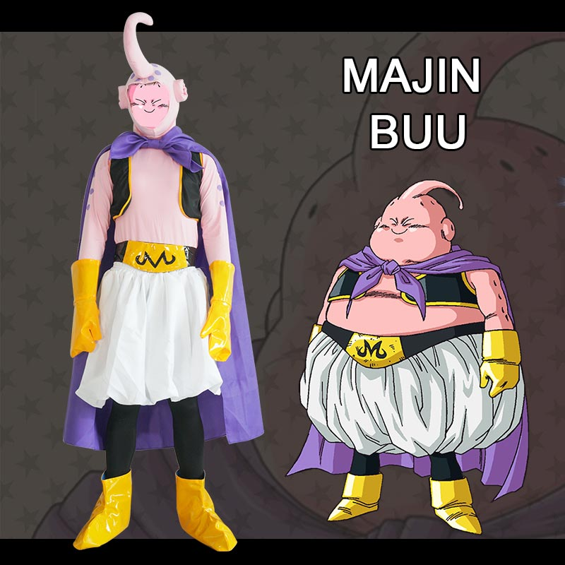 Milky Way Anime Dragon Ball Cosplay Costume Majin Buu Majin Boo Cosplay Costume For Halloween Carnival Party Cosplay Party