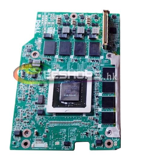 ФОТО Cheap for Dell Precision M6400 M6500 Laptop Graphics VGA Video Card Nvidia Quadro FX 2800M FX2800M N10E-GLM-B2 DDR3 1GB MXM 3.0