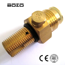New shooting Paintball Co2 tank Pin Valve Copper Made 5/8
