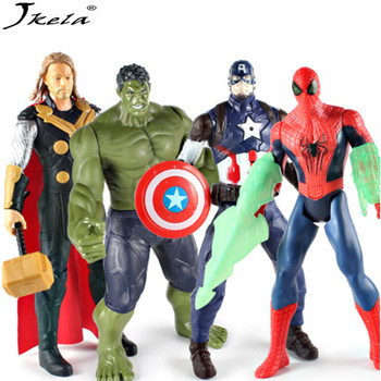 [Jkela] Marveling Super hero series Hand to do model With light toy 12 inch Compatibility with legoingly скуби ду лего
