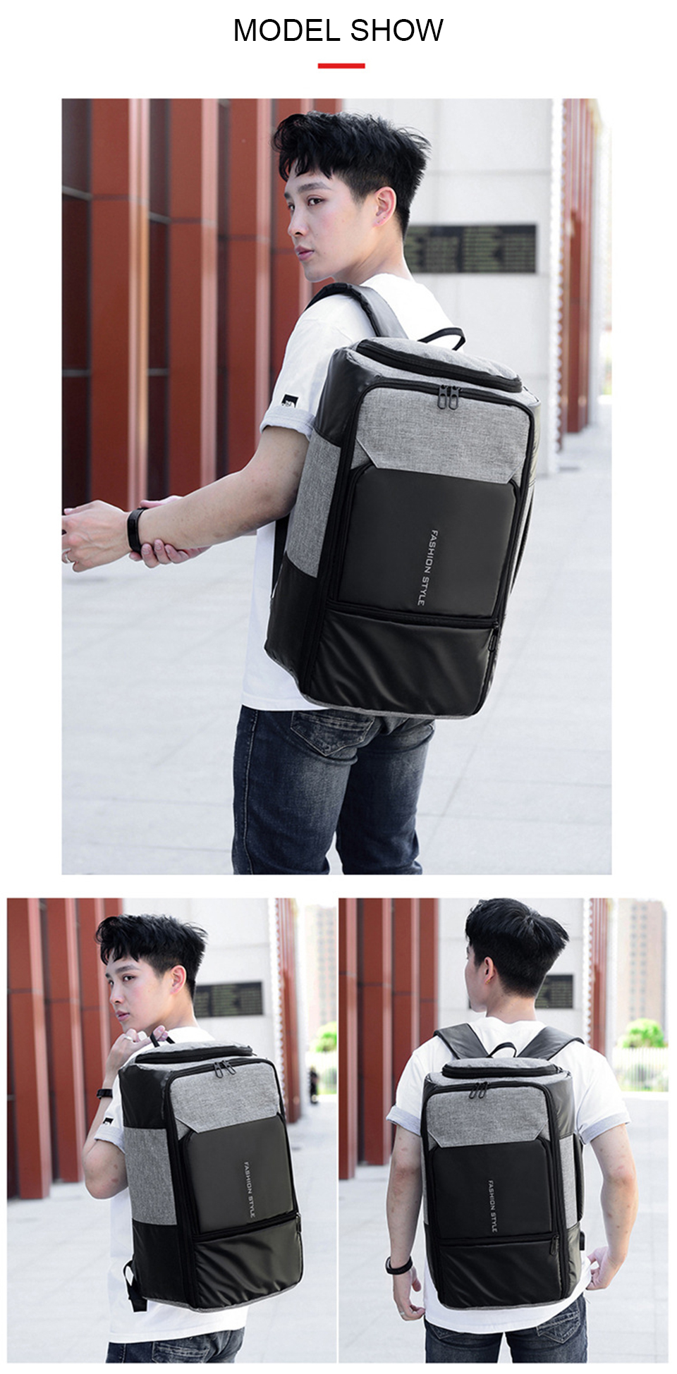 17 Anti Theft Backpack
