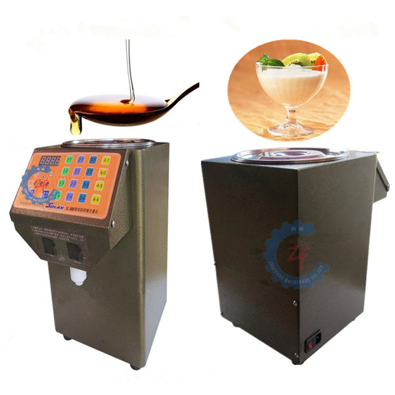 Fructose quantitative machine commercial stainless steel automatic bubble tea syrup dispenser edtid new high quality small commercial ice machine household ice machine tea milk shop