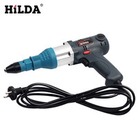 Electric Nail Gun Blind Rivets Gun Riveting Tool 350W Electrical Power Tool For 3.2 5.0mm Economical Version