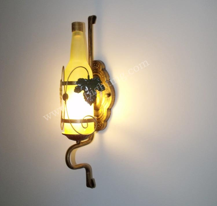 ФОТО Classical wall lamps wrought iron wall lighting cabinet lights wall lamp fashion rustic vintage wall lamps led sconce
