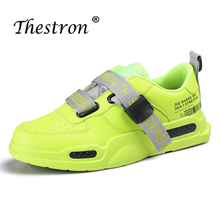 2019 Hot Sale Anti-Slippery Sports Trainers for Men Outdoor Athletic Running Shoes Walking Jogging Thestron