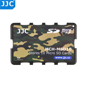 Image 4 - JJC SD/Micro SD/TF Memory Card Holders Handle Storage Box Case for Canon Nikon Sony Olympus Pentax Panasonic Fujifilm