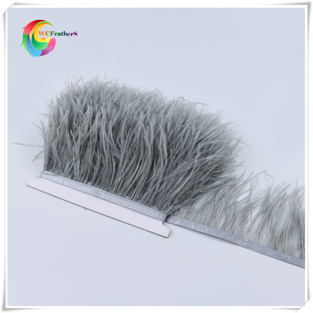 O17 8-10cm ostrich feather trims 4