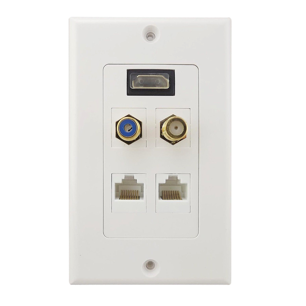 online buy wholesale rj45 wall plates from china rj45 wall plates wholesalers. Black Bedroom Furniture Sets. Home Design Ideas