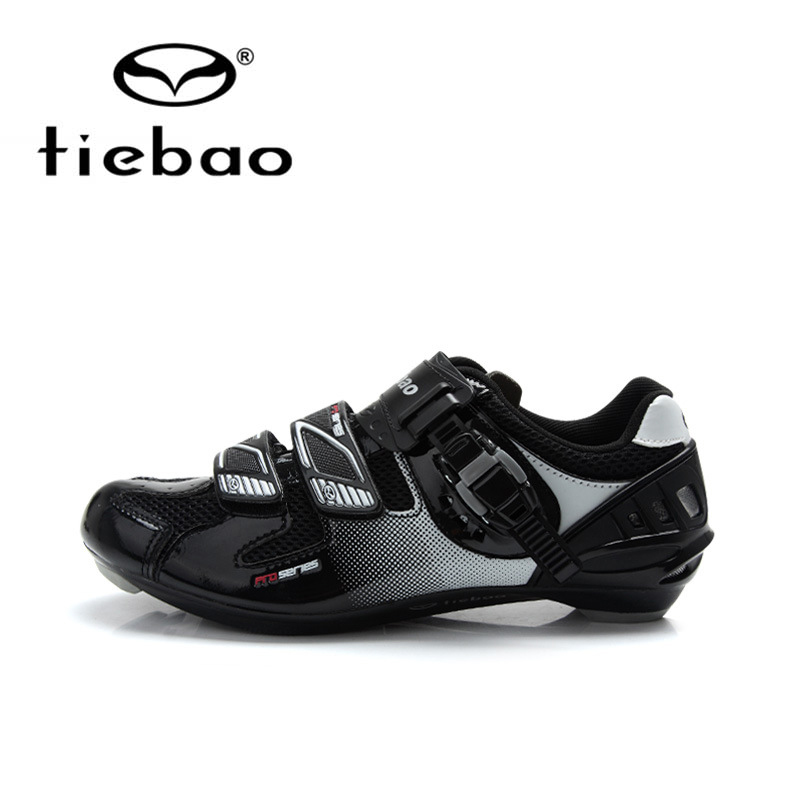 Tiebao Outdoor Cycling Shoes Athletic Training Road Bike Shoes Nylon-Fibreglass AutoLock Bicycle Shoes zapatillas ciclismo tiebao nylon fibreglass road sports clismo shoes road bike cycle athletic clismo cycling bike shoes for men 46size