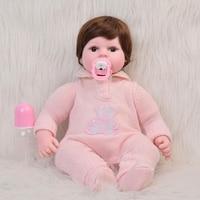 Hot Sale 22 55cm Realistic Reborn Baby Doll Silicone Vinyl Girl Toy Reborn Newborn Dolls 2018