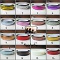 Moda 16 Colores Anchura 1mm Longitud 20 m 20 unids Rollos Tira Desprendimiento Line Tape Nail Art Tips Nail decoración de la Etiqueta Engomada
