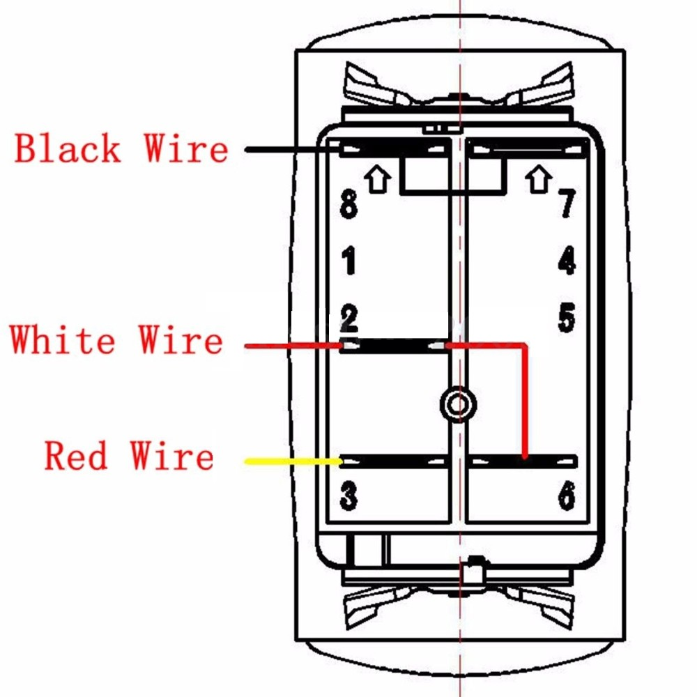 small resolution of 12 24v blue led light bar laser rocker switch on off relay fuse atv new led light bar on off laser rocker switch relay wiring harness loom kit