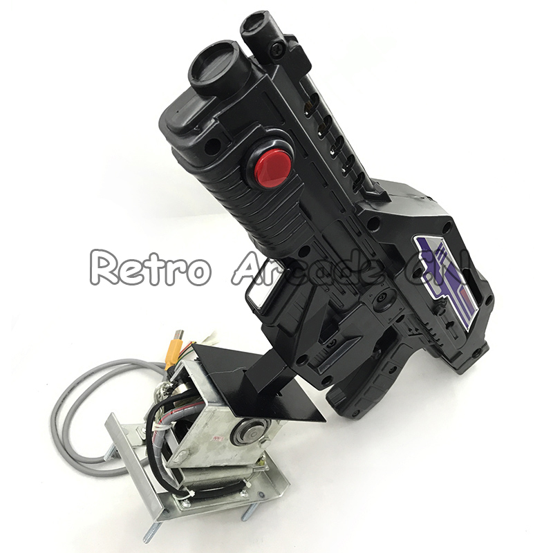 Shooting game gun for aliens extermination shotting machine for pc motherboard converting aliens video arcade game machine
