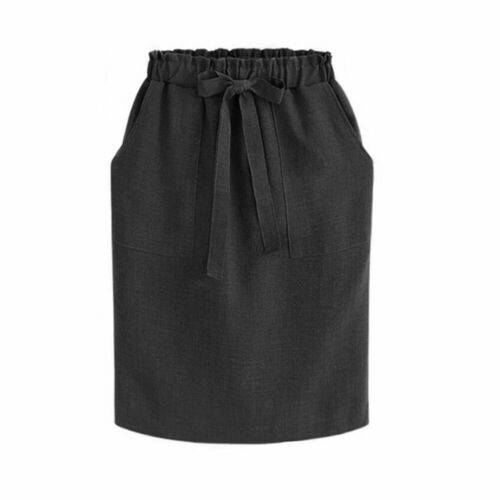 Summer Skirt For Women 2019 Solid Color Pocket Lace Sundress Sexy Bandge High Waist Pencil Bodycon Hip Mid Skirt Party New Hot
