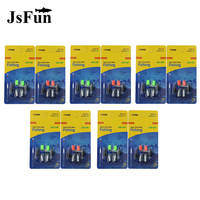 10Pack Electronic Lightstick Fishing Fluorescent Light Night Float Lights Dark Glow Stick CR311 Battery Electronic Float