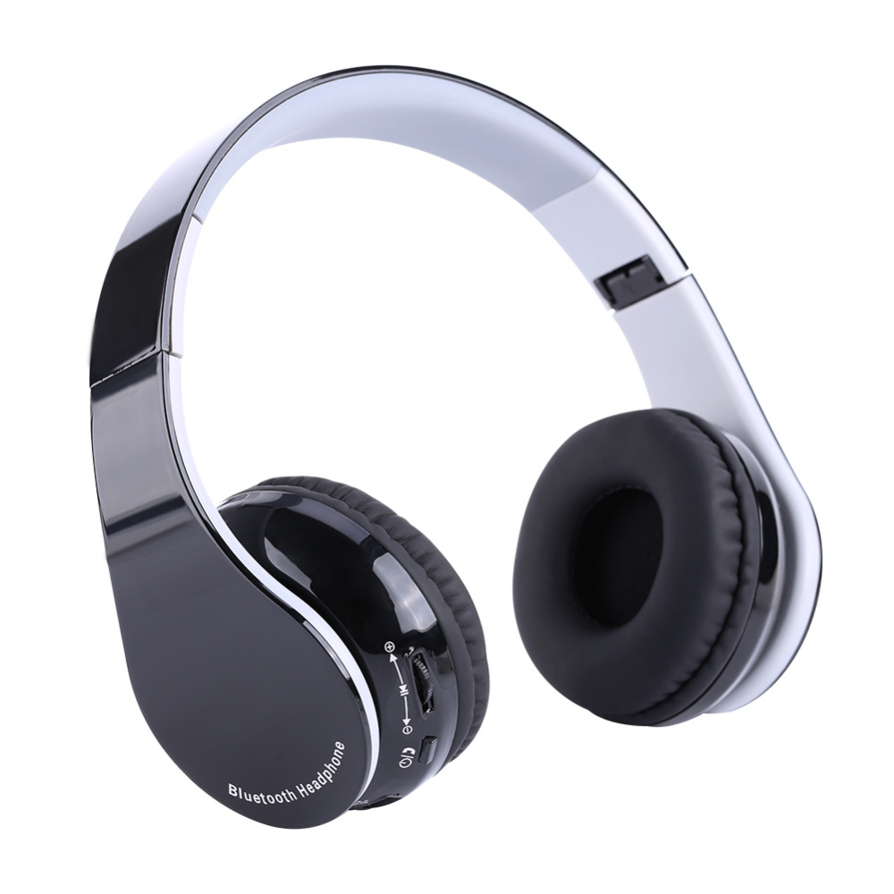 Foldable Bluetooth4.1 Wireless Gaming Headset Headphone Hifi Stereo Earphone for PS4