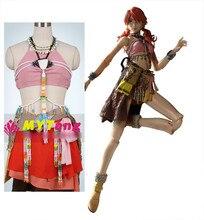 Anime final fantasy xiii oerba dia vanille cosplay sexy party girl dress disfraz de halloween para las mujeres shipping