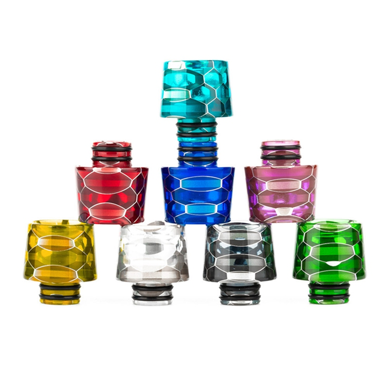 510 Resin Drip Tip Wide Bore Mouthpiece For CROWN IV /CROWN  4 Tank Atomizers Electronic Cigarette Accessories