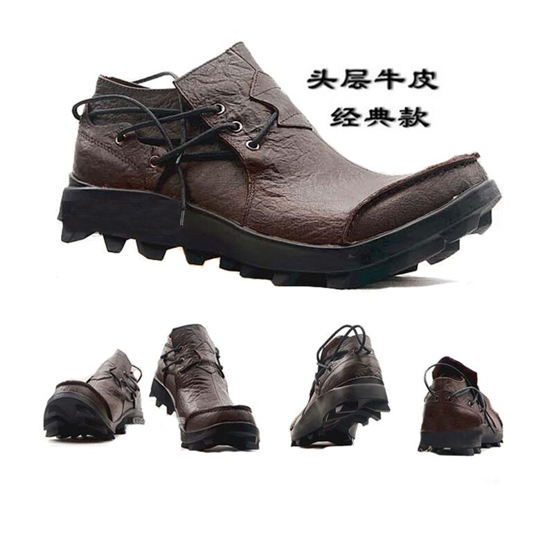 Designer Original Genuine Leather Men Boat Shoes Luxury Leather Shoes Hand Sewing Slip-On Mens Loafers Casual Driving Men Shoes