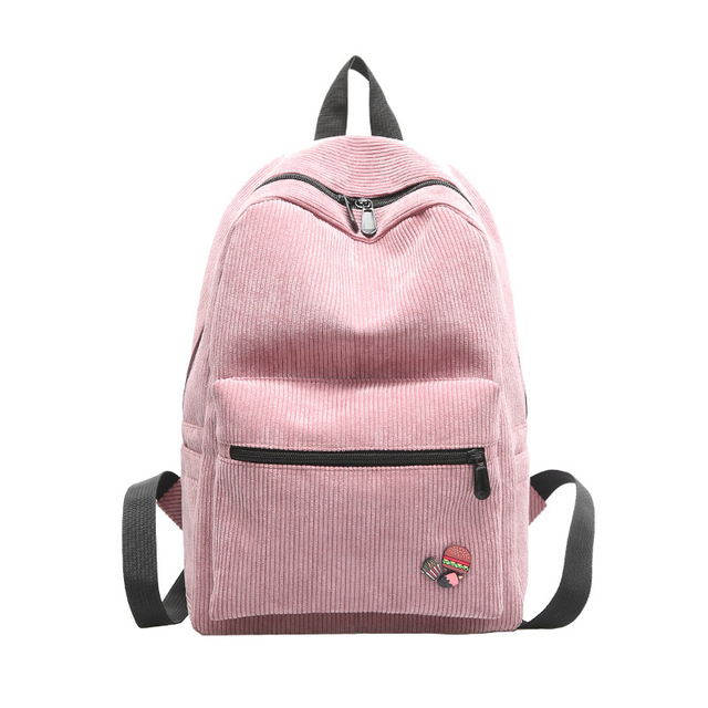 ff2206c69cb Meisjes terug pack koreaanse stijl corduroy rugzakken voor kinderen boek tas  vrouwen school bagpack laptop mochilas