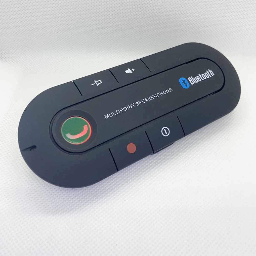Visor de coche a bordo Bluetooth Speakerphone coche Bluetooth Teléfono manos libres portátil inalámbrico Bluetooth auricular