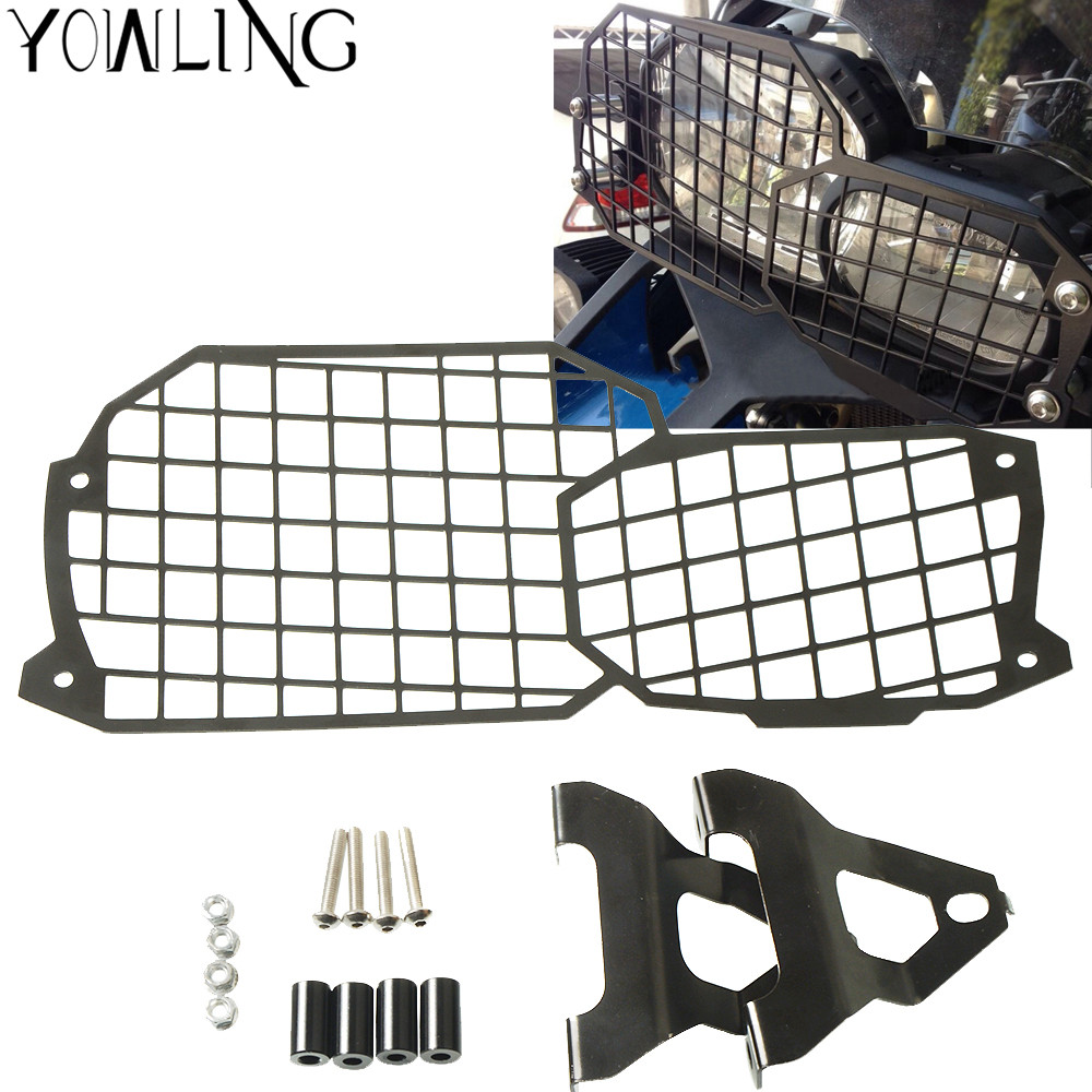 CNC Motorcycle Headlight Guard Protector Front Lamp Cover for BMW F800GS/ADV F700GS F650GS 2008 - 2017